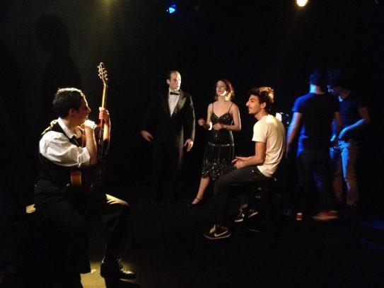 Love For Sale, une nuit avec Cole Porter - Tournage du clip officiel
